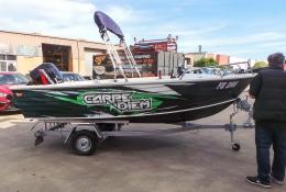 Carpe Diem Custom Boat Wrap