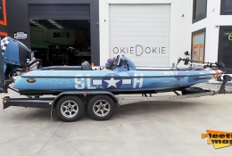 Mustang boat
