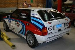 Lancia Delta rear