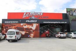 LeMans Go Kart exterior