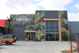 Paintball facade