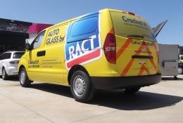RACT Van rear