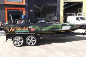 ski boat wraps